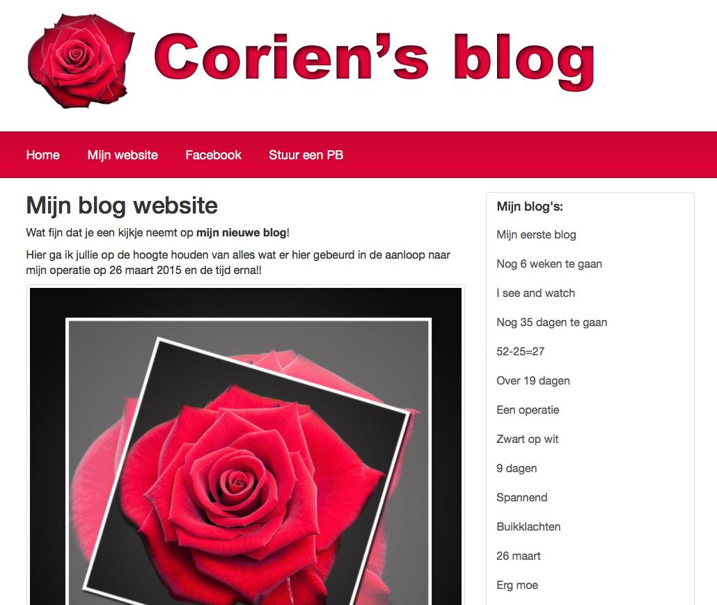 Corfer mobile webblog