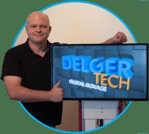 Delger-tech met narrowcasting