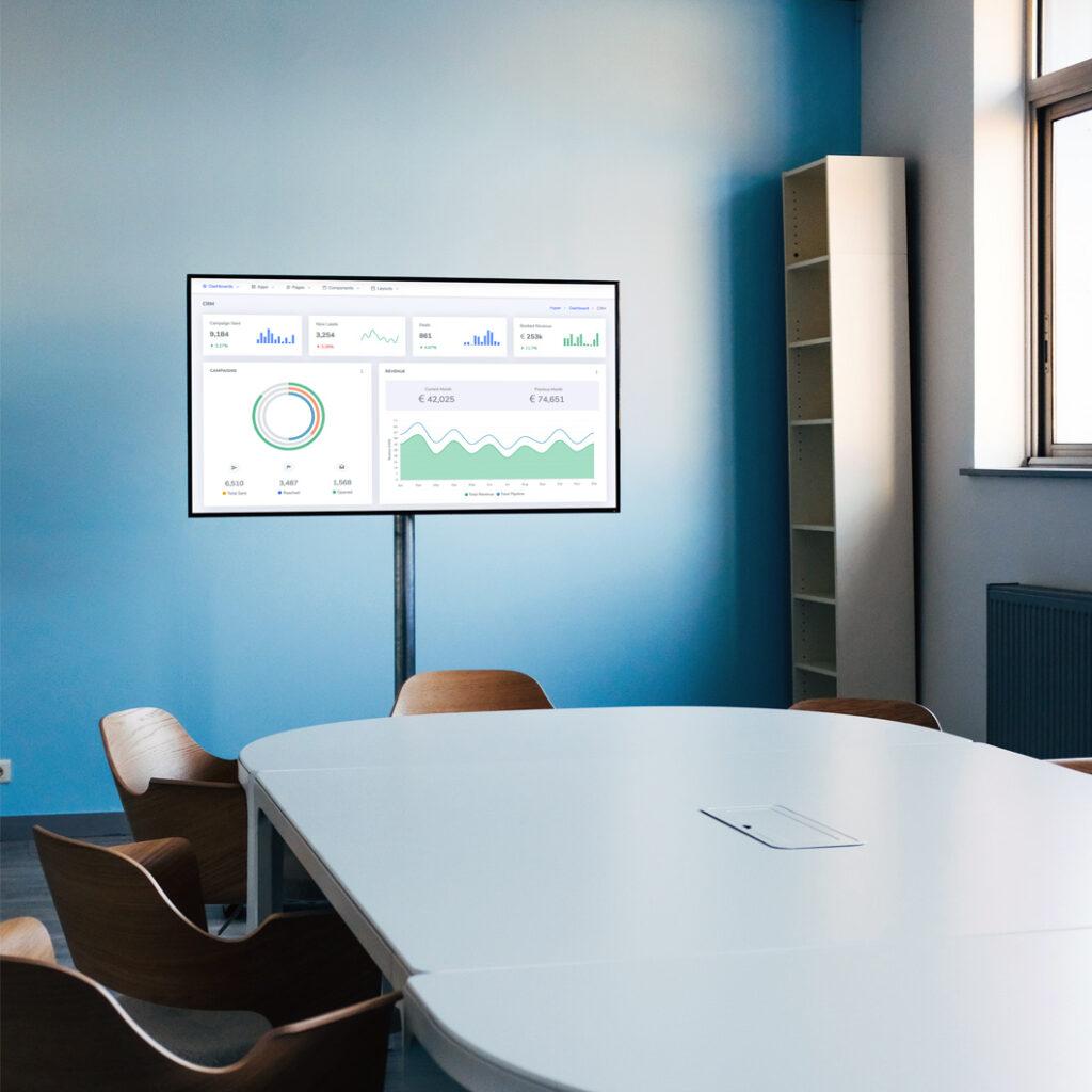Digital Signage - informatiescherm voor bedrijven