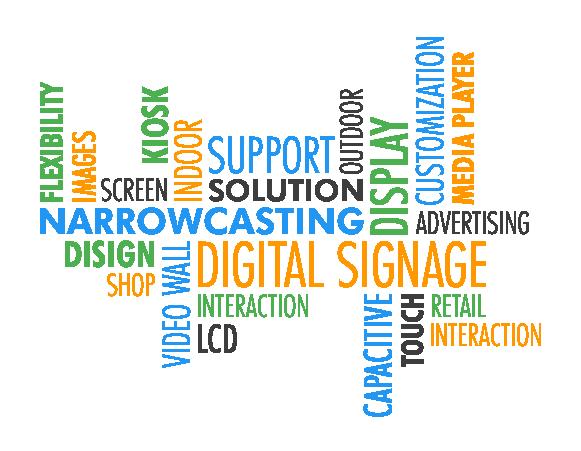 Narrowcasting Digital Signage Delger-Tech
