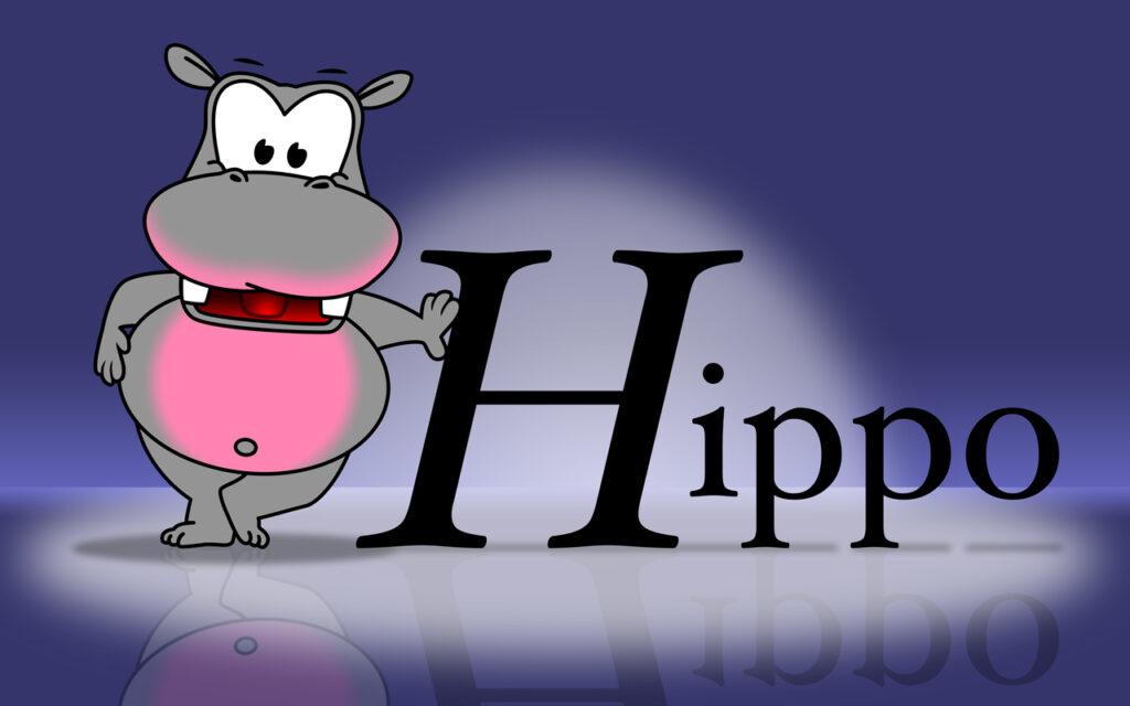 Narrowcasting Hippo reclame eetcafé