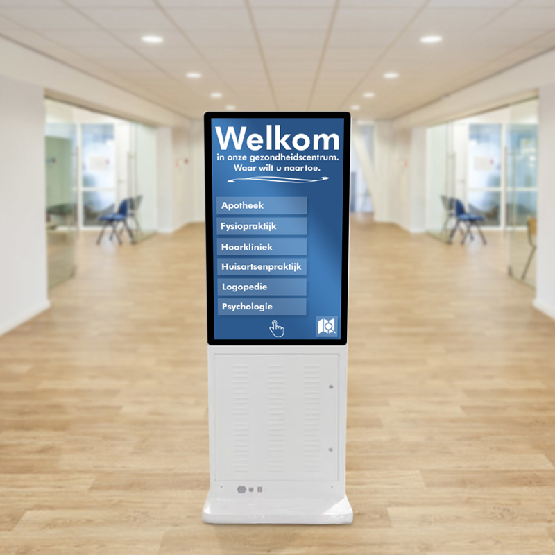 Digitale informatieschermen voor bedrijven