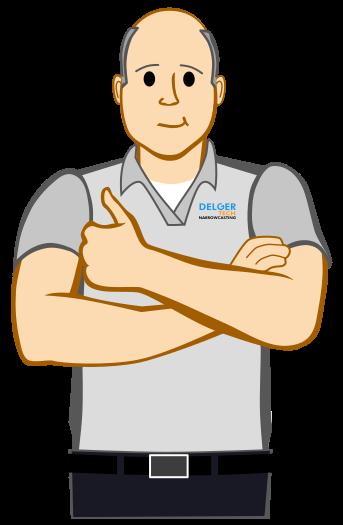 Narrowcasting bij Delger-Tech dat is OK